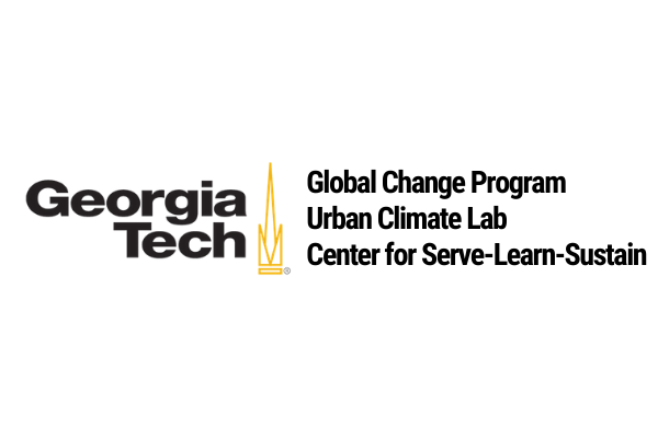 Georgia Tech Global Change Program, Urban Climate Lab, and Center for Serve-Learn-Sustain